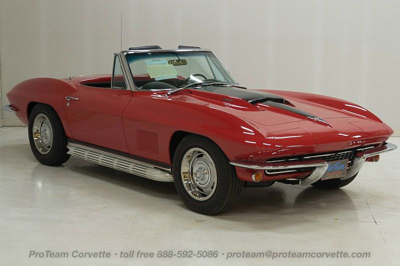 1967 corvettes classic cars from proteam 1018k1967 corvette convertible two tops 427 435 hp 4 speed numbers matching also has factory original bodytrim tag 54843 actual miles fandeluxe Images