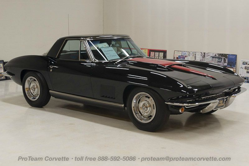 1967 corvettes classic cars from proteam 1045j1967 corvette benchmark convertible with two tops 427 435 hp 4 speed numbers matching original motor also has factory original bodytrim tag fandeluxe Images