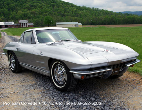 Classic Corvette For Sale 1963 1041D