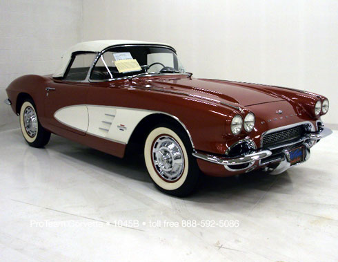 Classic Corvette For Sale 1961 1045B