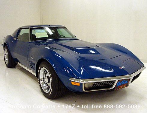 1997 Corvette For Sale >> ProTeam Classic Corvettes 1970 • 178Z