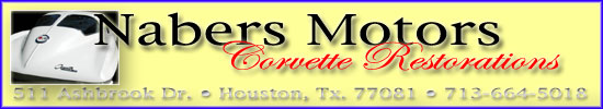Nabers Motor Corvette Restorations