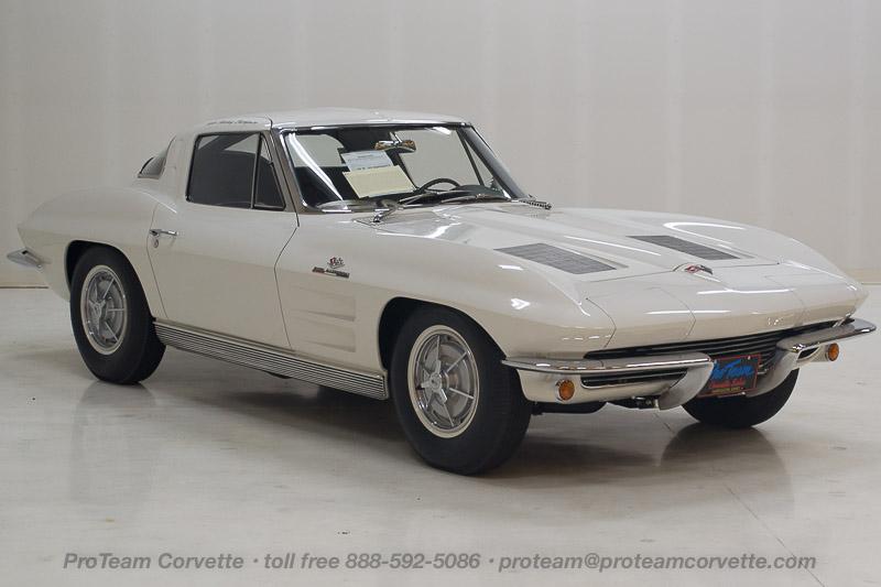 1963 1964 corvettes classic cars from proteam for 1964 split window corvette