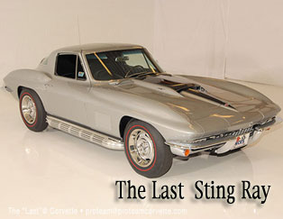 Corvettes on YouTube | Last Sting Ray Corvette