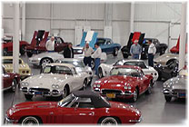 Bring your car club for a tour of ProTeam's Classic Corvette Showrooms