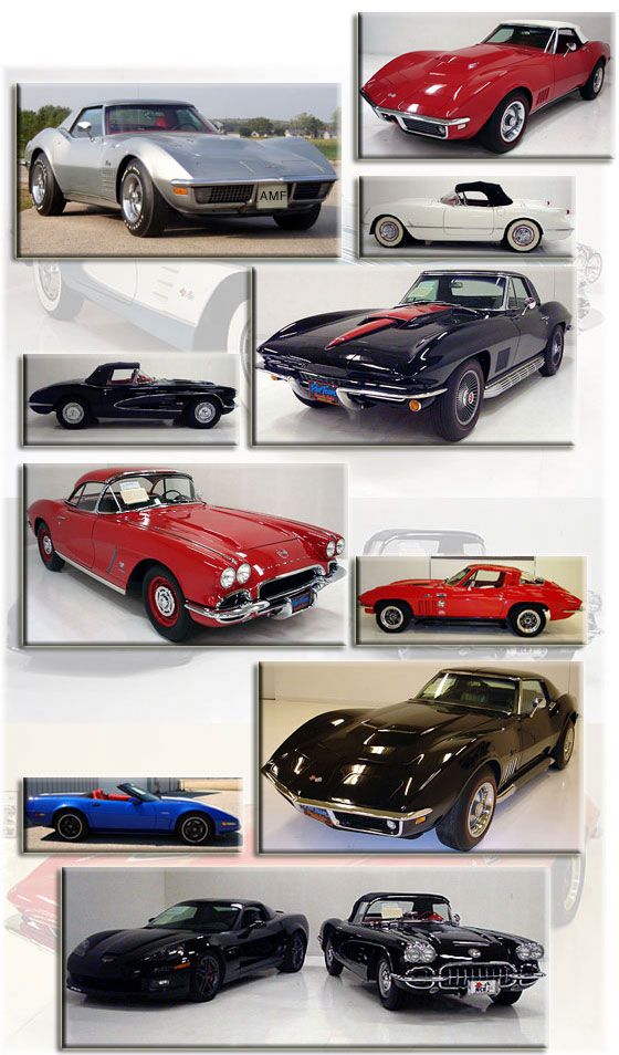 Used Corvettes for Sale | Classic Corvette Collection