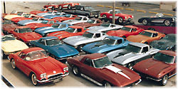 Classic Corvette Showroom and Sales Office