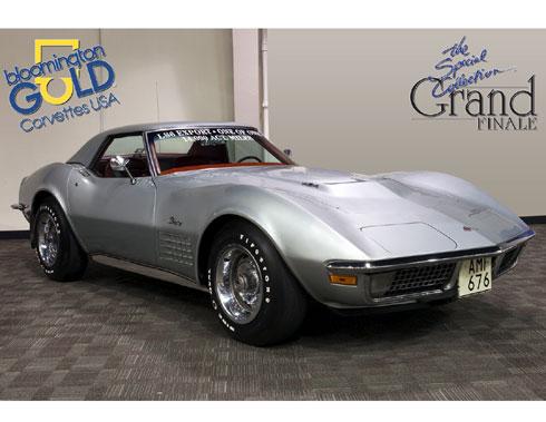 Classic Corvette For Sale 1971 Ls6 Export 1001a