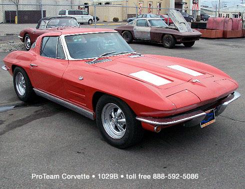 Classic Corvette For Sale 1963 1029B