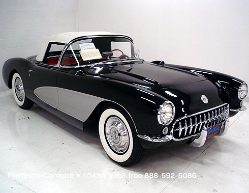 Classic Corvette For Sale 1956 1043a