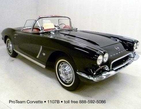 Classic Corvette For Sale 1962 1107B