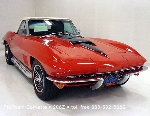 1967 Red Corvette 435 original factory body/trim tag