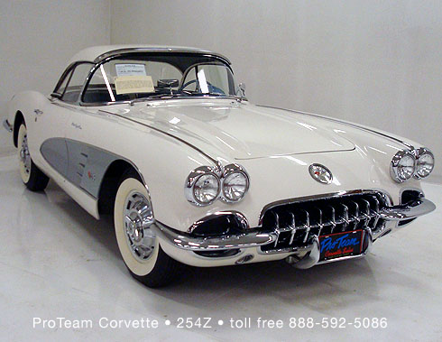Classic Corvette For Sale 1960 254z