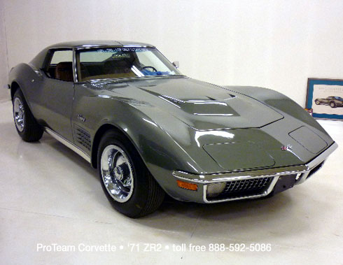 Classic Corvette For Sale 1971 Zr2 1037c