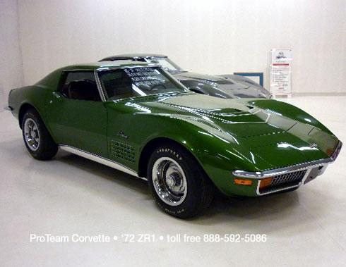 Corvettes on eBay: 1972 Corvette ZR1 - The Rarest of all Small ...