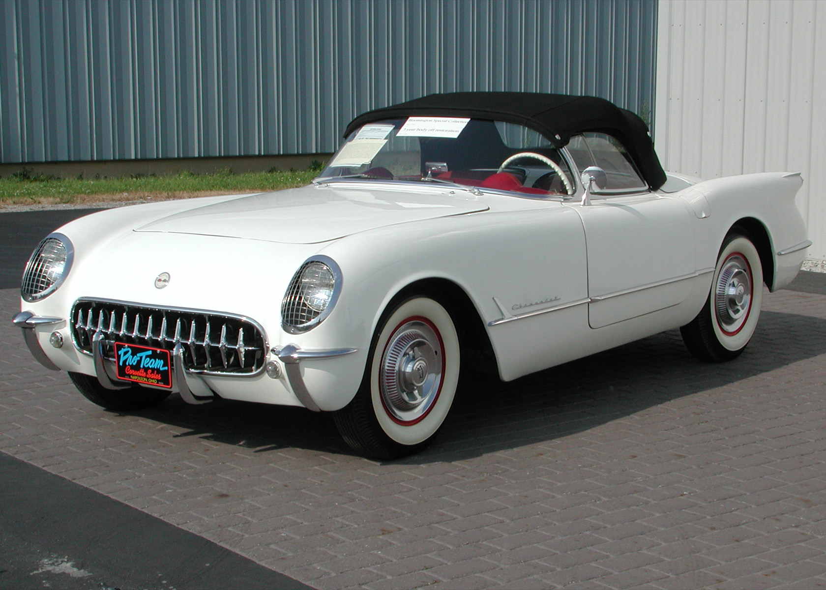1953 Corvette Photos Proteam Classic Corvettes