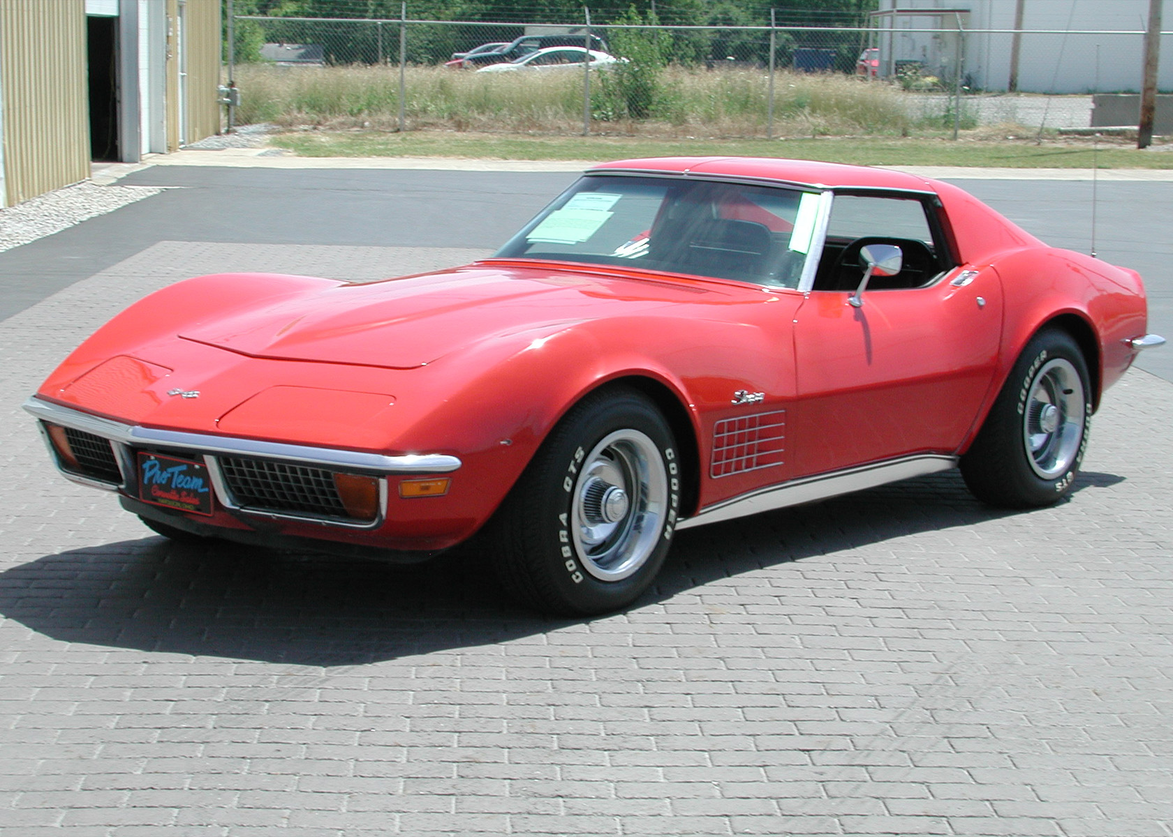 1972 Corvette Photo Proteam Classic Corvettes