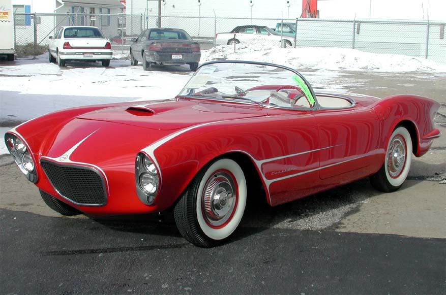1953 Harerazn Corvette Proteam Corvette