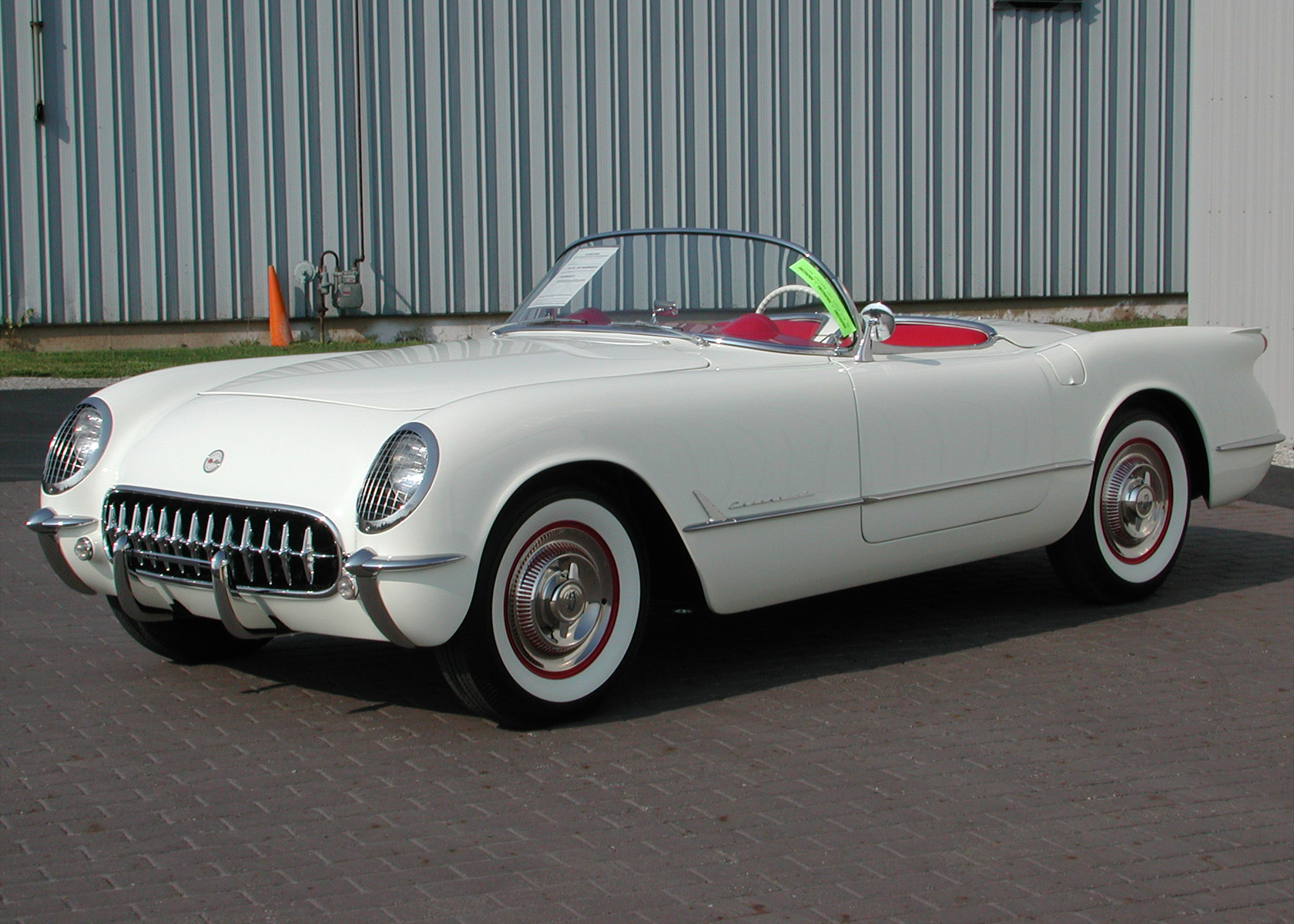 Corvette Restoration Celebration 1953 Full View Of Corvette